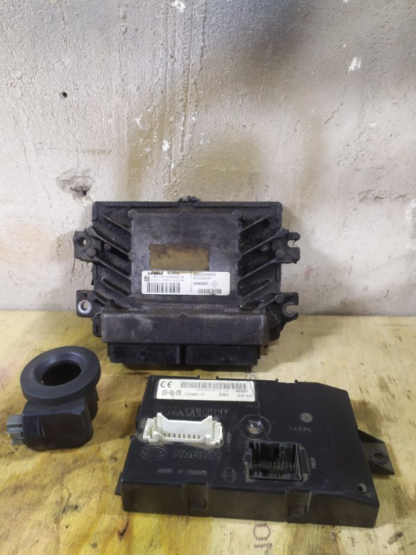 Блок управления двигателем (эбу) Renault Kangoo 1 K7J 2004 (б/у)