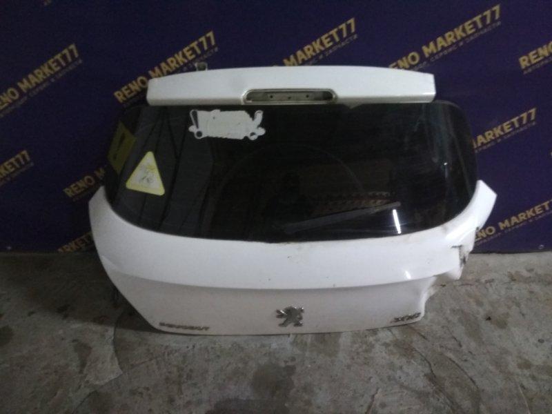 Крышка багажника Peugeot 308 4A/C EP6 2010 задняя (б/у)
