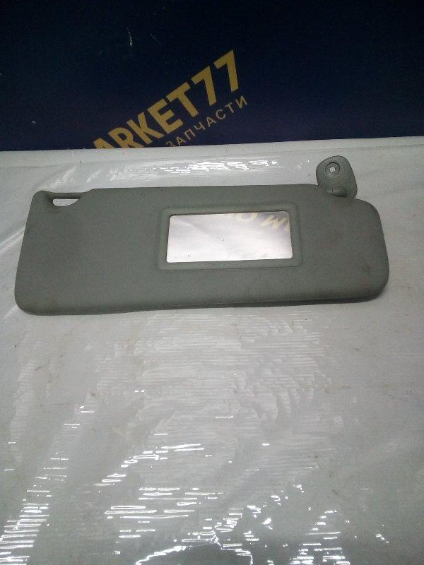 Козырек солнцезащитный Renault Kangoo 1 KC K9K 2006 правый (б/у)