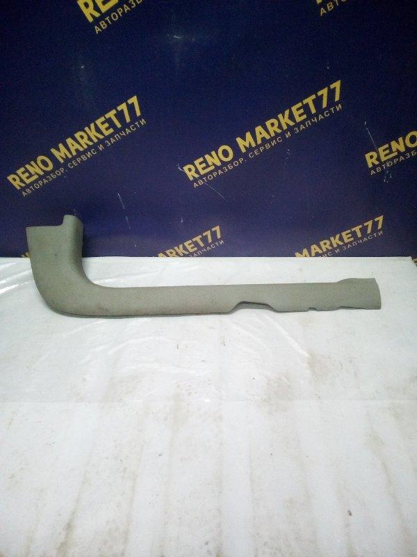 Накладка порога (внутренняя) Renault Kangoo 1 KC K9K 2006 передняя правая (б/у)