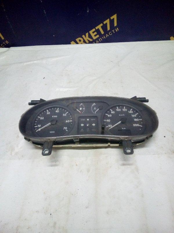 Панель приборов Renault Kangoo 1 KC K9K 2006 (б/у)