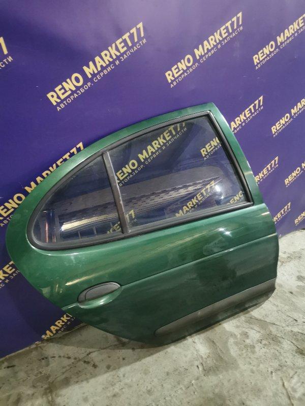 Дверь Renault Megane 1 ХЭТЧБЭК K7J 2000 задняя правая (б/у)