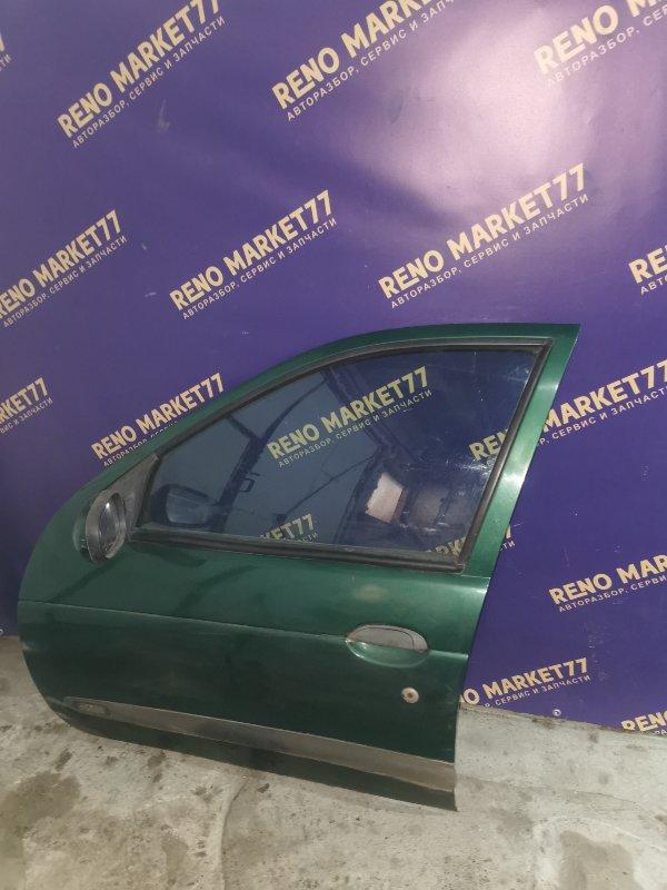 Дверь Renault Megane 1 ХЭТЧБЭК K7J 2000 передняя левая (б/у)