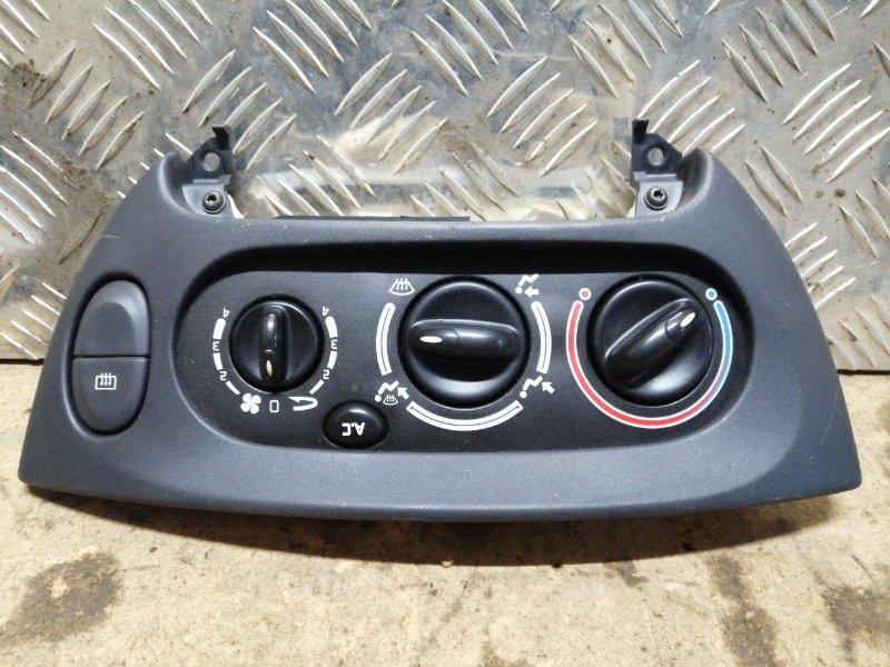 Блок управления отопителем Renault Megane 1 ХЭТЧБЭК K4J 2000 (б/у)