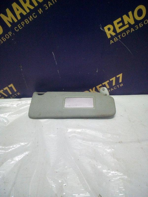 Козырек солнцезащитный Renault Symbol 1 СЕДАН K7J 2004 правый (б/у)