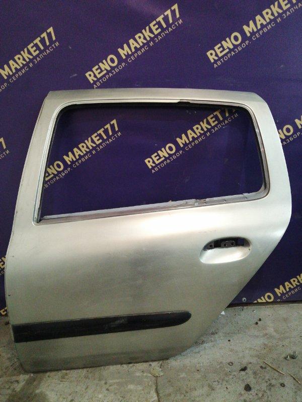 Дверь Renault Symbol 1 СЕДАН K7J 2004 задняя левая (б/у)