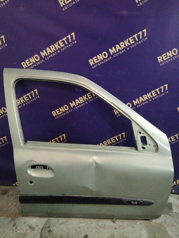Дверь Renault Symbol 1 K7J 2005 передняя правая (б/у)