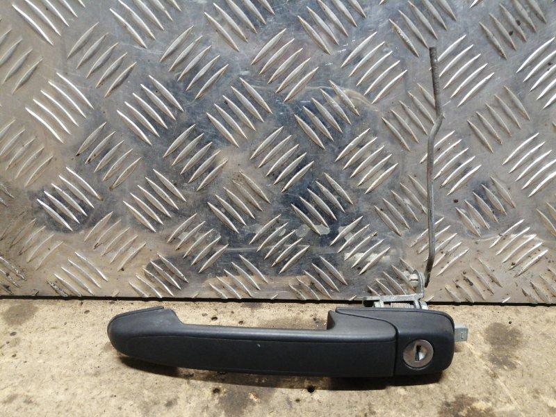 Ручка двери внешняя Lada Granta 2012 передняя левая (б/у)