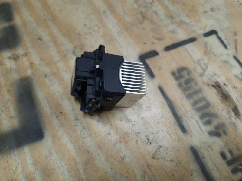 Резистор печки Renault Logan 2 (б/у)