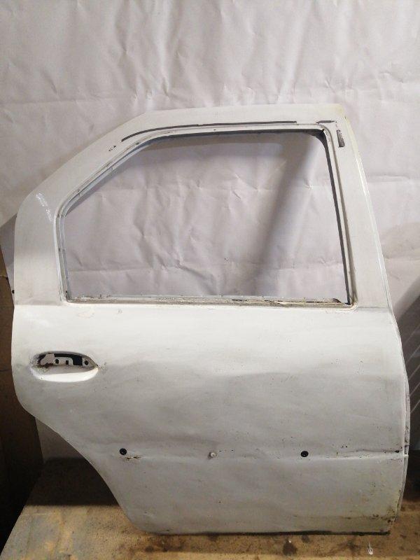 Дверь Renault Logan 1 SR K7J 2004 задняя правая (б/у)