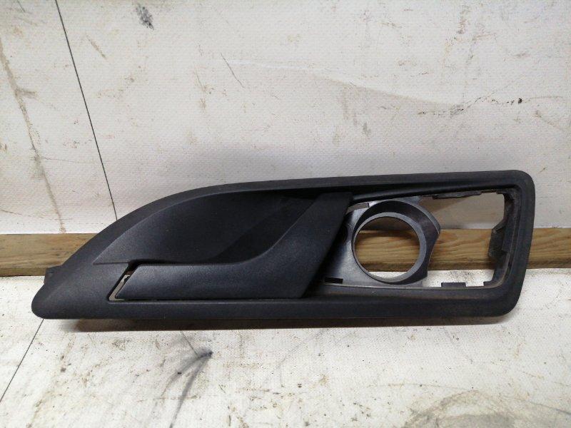 Ручка двери внутренняя Skoda Octavia A5 1.4 2008 задняя левая (б/у)