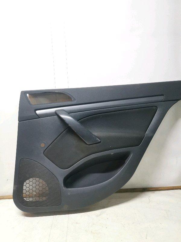 Обшивка двери Skoda Octavia A5 1Z3 1.4 CGGA 2008 задняя правая (б/у)