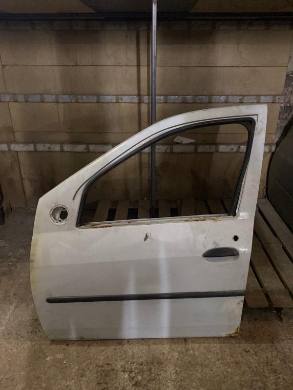 Дверь Renault Logan 1 SR K7J 2004 передняя левая (б/у)