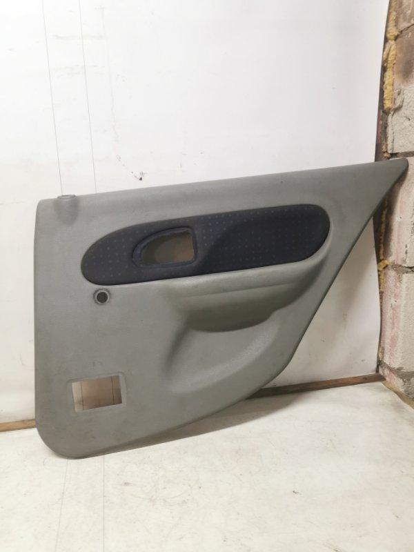 Обшивка двери Renault Symbol 1 K7J 2005 задняя правая (б/у)