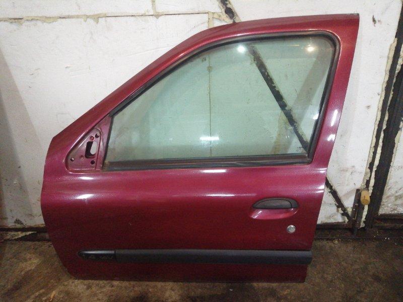 Дверь Renault Clio 2 ХЭТЧБЭК K4J 2003 передняя левая (б/у)