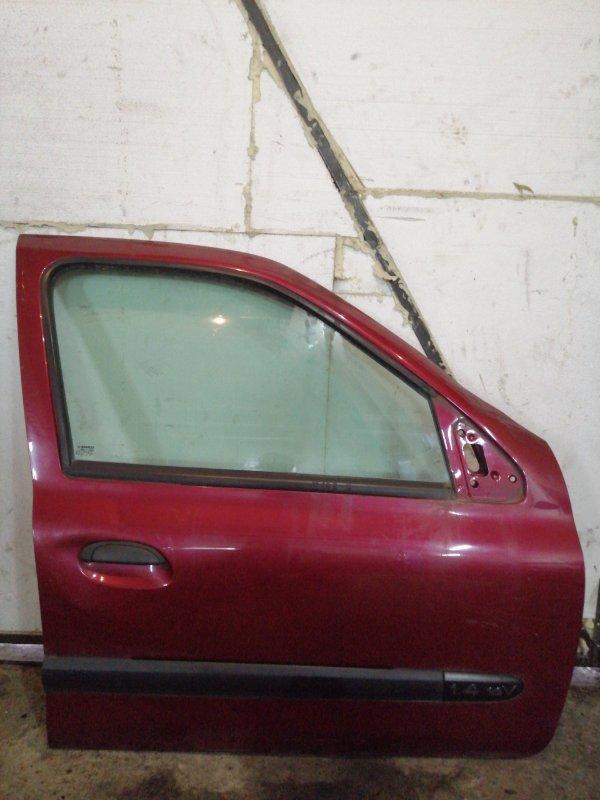 Дверь Renault Clio 2 ХЭТЧБЭК K4J 2003 передняя правая (б/у)