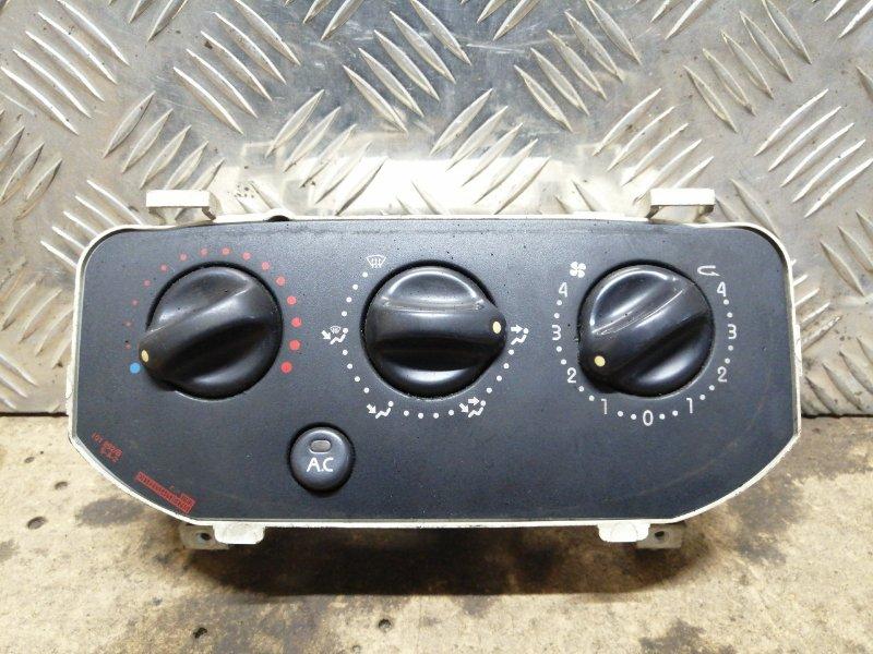 Блок управления отопителем Renault Symbol 1 LB K7J 2005 (б/у)