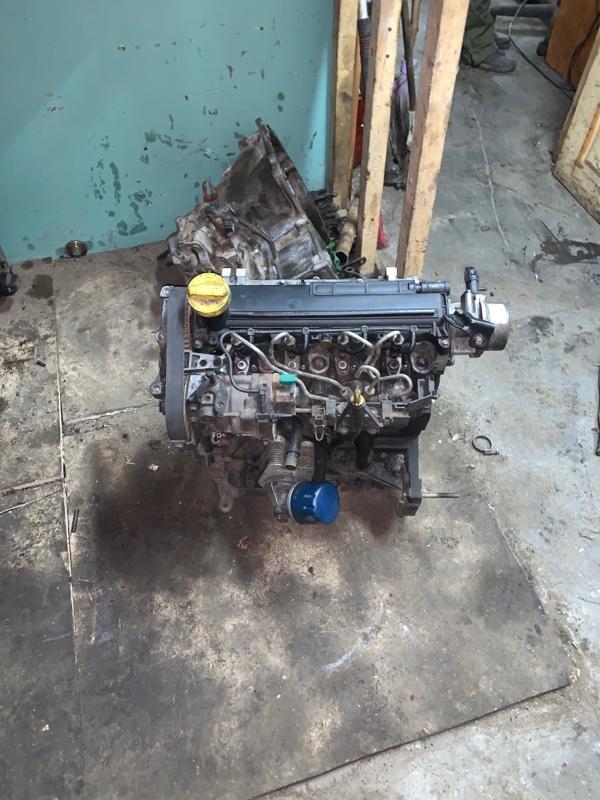 Двигатель Renault Kangoo 2 KWO K9K 2011 (б/у)