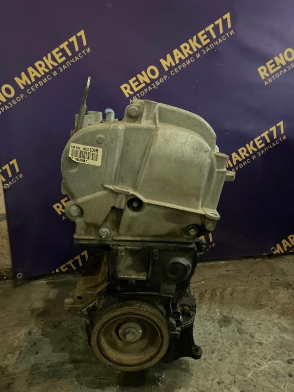 Двигатель Nissan Almera G15 K4M 2012 (б/у)