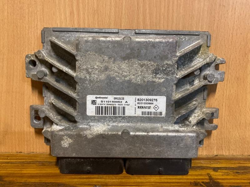 Блок управления двигателем (эбу) Nissan Almera G15 K4M 2012 (б/у)