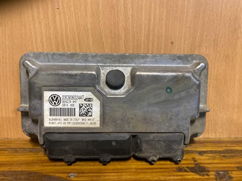 Блок управления двигателем (эбу) Skoda Octavia A5 1Z3 1.4 CGGA 2008 (б/у)