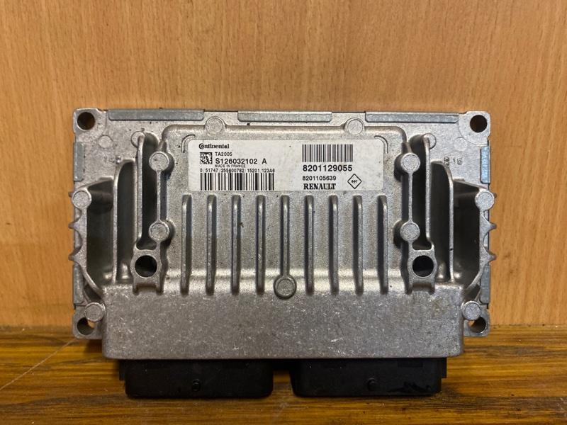 Блок управления акпп Renault Logan 2 L8 K4M 2014 (б/у)
