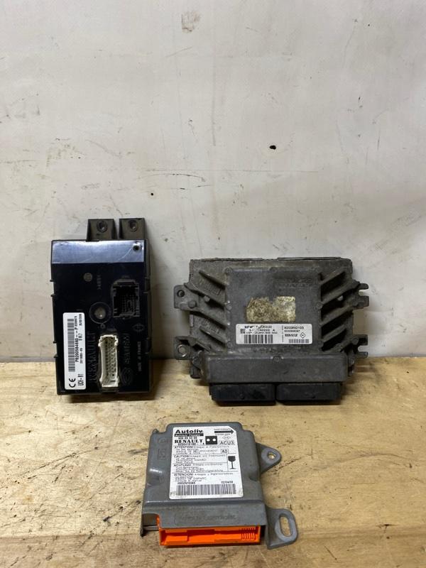 Блок управления двигателем (эбу) Renault Kangoo 1 K7J 2008 (б/у)