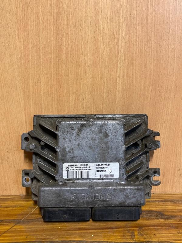 Блок управления двигателем (эбу) Renault Symbol 1 K7J 1998 (б/у)