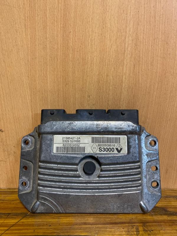 Блок управления двигателем (эбу) Renault Megane 2 K4M 2002 (б/у)