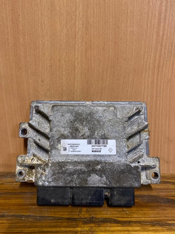 Блок управления двигателем (эбу) Renault Logan 2 L8 K7M 2014 (б/у)