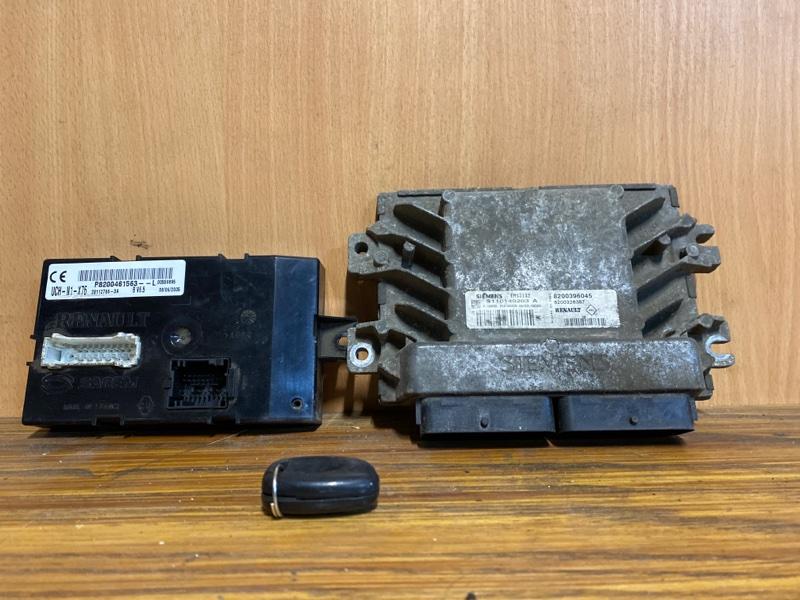 Блок управления двигателем (эбу) Renault Kangoo 1 K7J 1997 (б/у)