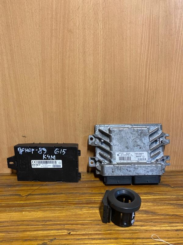 Блок управления двигателем (эбу) Nissan Almera G15 K4M 2015 (б/у)