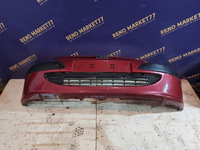 Бампер Peugeot 307 УНЕВЕРСАЛ 1.6 109 Л.С 2004 передний (б/у)