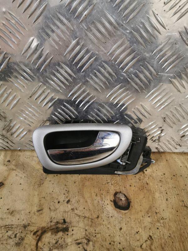 Ручка двери внутренняя Peugeot 307 УНЕВЕРСАЛ 1.6 109 Л.С 2004 передняя правая (б/у)