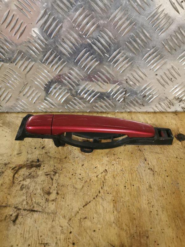 Ручка двери внешняя Peugeot 307 УНЕВЕРСАЛ 1.6 109 Л.С 2004 передняя правая (б/у)