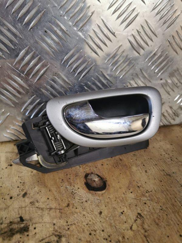 Ручка двери внутренняя Peugeot 307 УНЕВЕРСАЛ 1.6 109 Л.С 2004 передняя левая (б/у)