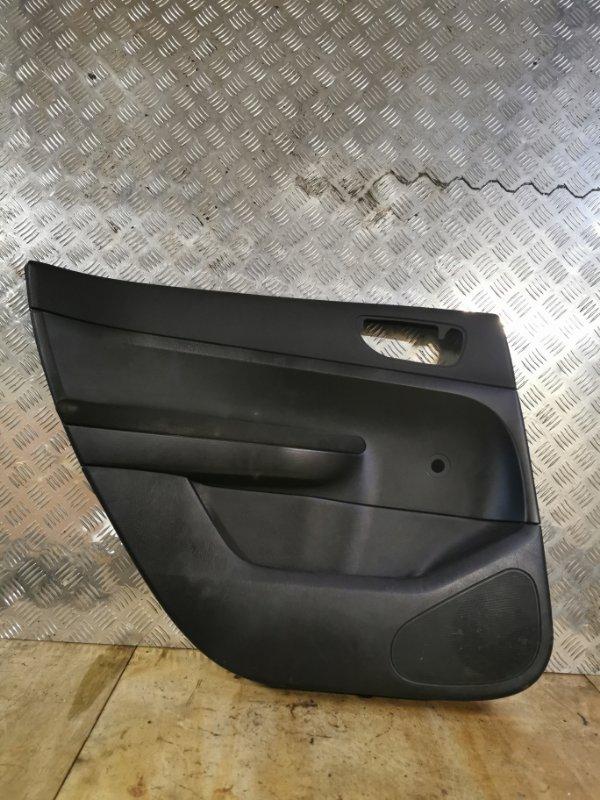 Обшивка двери Peugeot 307 УНЕВЕРСАЛ 1.6 109 Л.С 2004 задняя левая (б/у)