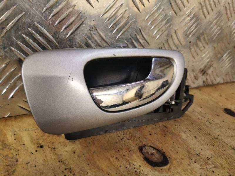 Ручка двери внутренняя Peugeot 307 УНЕВЕРСАЛ 1.6 109 Л.С 2004 задняя правая (б/у)
