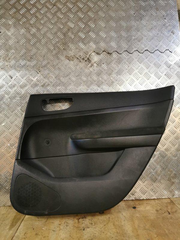 Обшивка двери Peugeot 307 УНЕВЕРСАЛ 1.6 109 Л.С 2004 задняя правая (б/у)