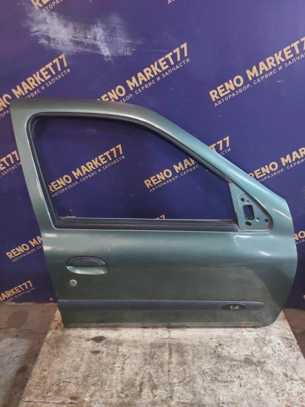 Дверь Renault Symbol 1 LB K7J 2007 передняя правая (б/у)