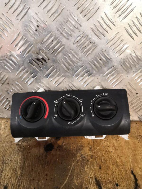 Блок управления отопителем Renault Symbol 1 LB K7J 2007 (б/у)