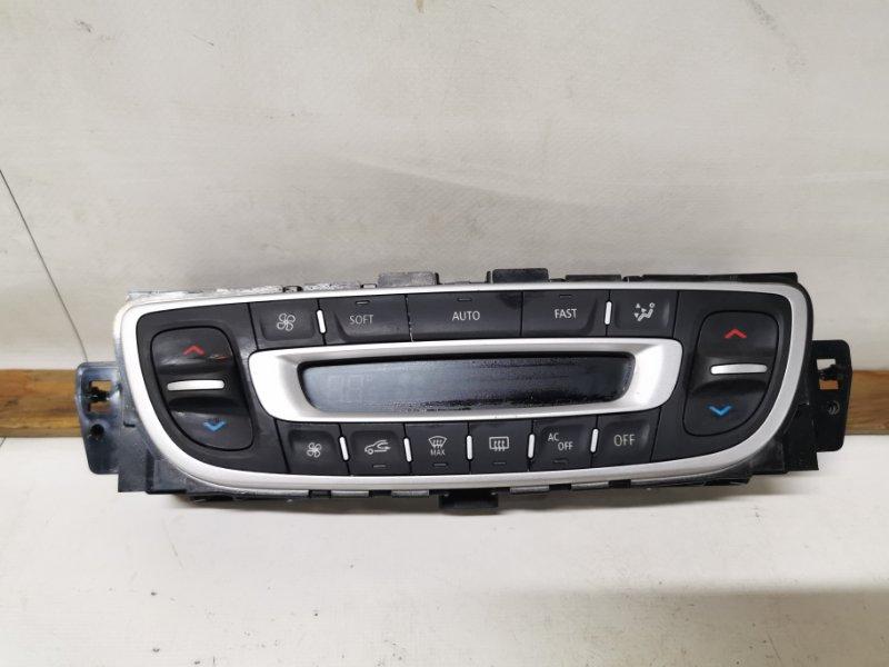 Блок управления климат-контролем Renault Megane 3 KZ0U K4M838 2013 передний (б/у)