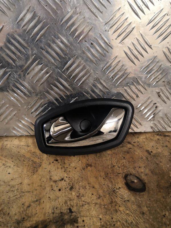 Ручка двери внутренняя Renault Megane 3 KZ0U K4M838 2013 задняя левая (б/у)