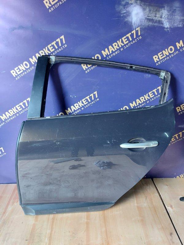 Дверь Renault Megane 3 KZ0U K4M838 2013 задняя левая (б/у)