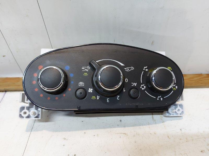 Блок управления отопителем Renault Duster LE ADVENTURE (05.2014 - 05.2015) F4R 2.0 2015 передний (б/у)