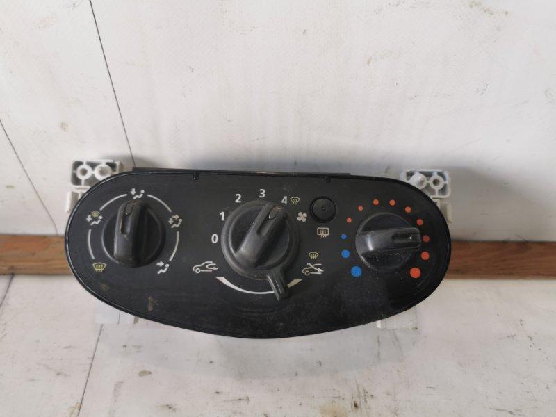 Блок управления отопителем Renault Logan 1 LS K7J 2012 (б/у)