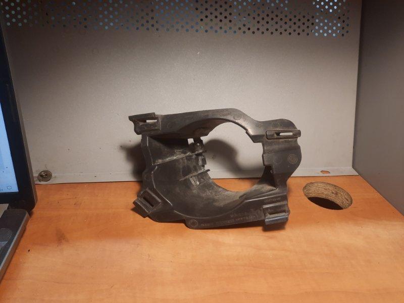Кронштейн противотуманной фары (птф) Renault Logan 1 2005 передний левый (б/у)