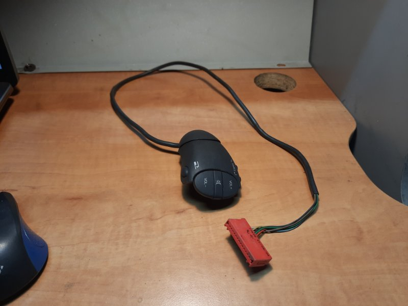 Блок управления магнитолой на руле Renault Kangoo 1 2003 (б/у)
