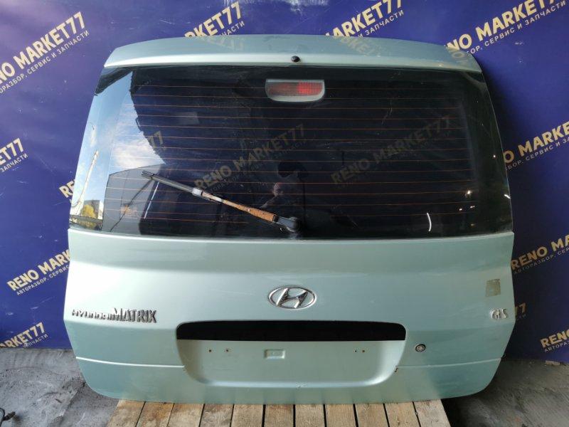 Крышка багажника Hyundai Matrix 1.8 задняя (б/у)