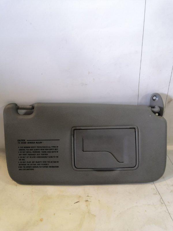 Козырек солнцезащитный Hyundai Matrix 1.8 передний правый (б/у)